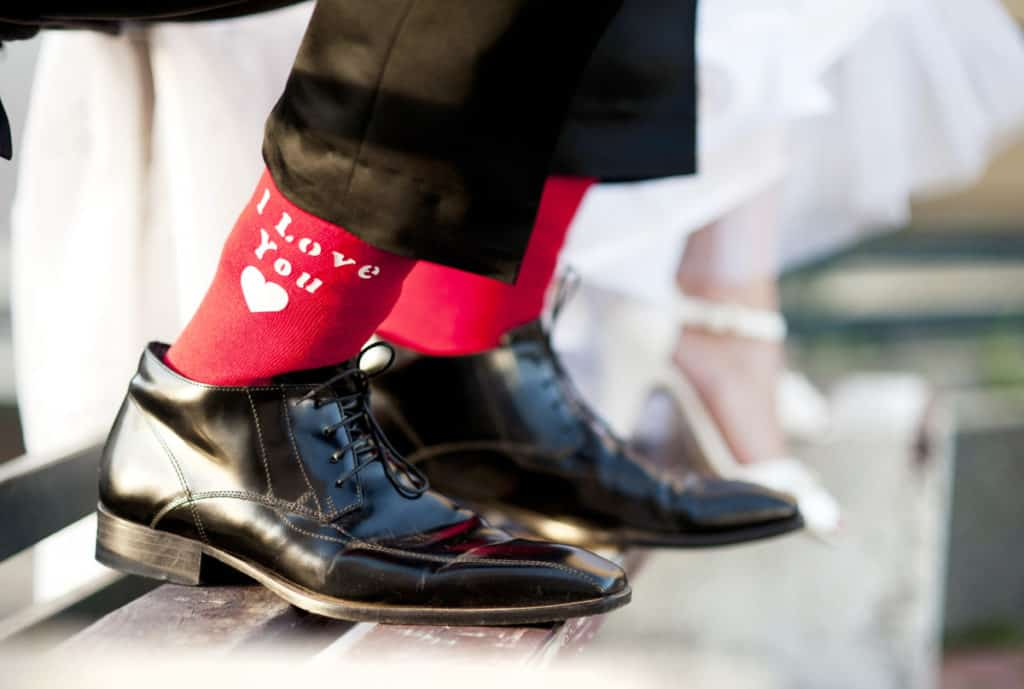 ALWAYS WEAR THE RIGHT SOCKS WITH YOUR SHOES