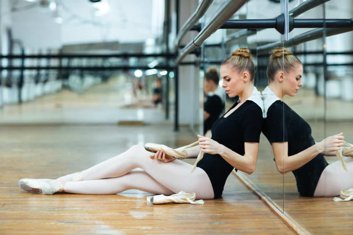 how to put suede tips on pointe shoes