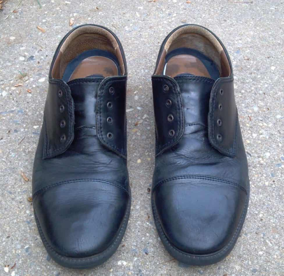 Some added benefits of polishing your shoes with banana peels